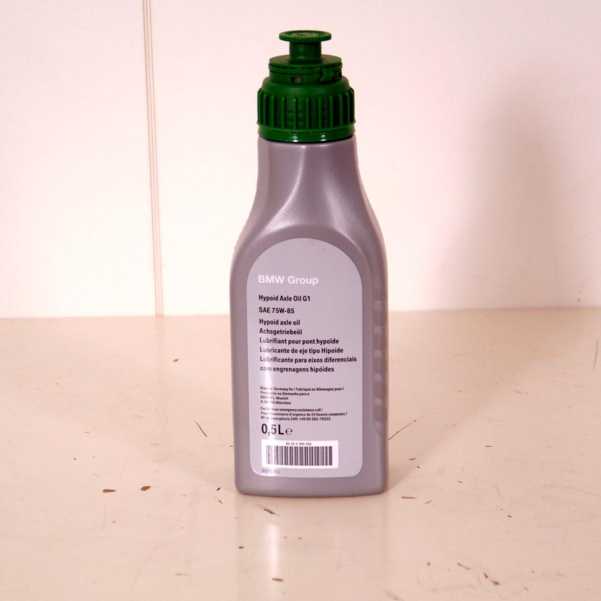 Original Bmw Hypoid Axle Oil G1 Hinterachs 246 L Sae 75w 85