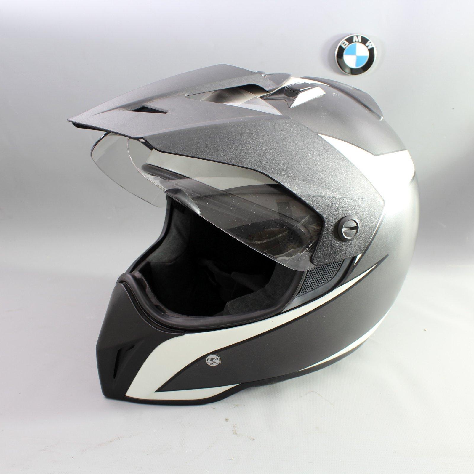 original bmw enduro helm volt schwarz motorradhelm gr 63. Black Bedroom Furniture Sets. Home Design Ideas